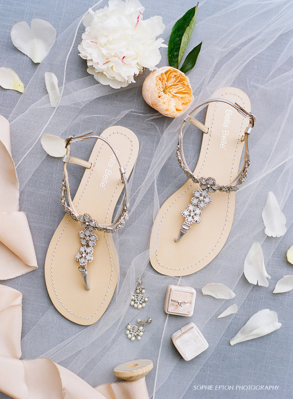 best beach wedding shoes for bride