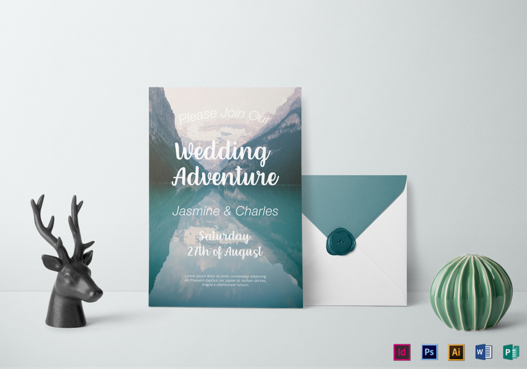 printable wedding invitation templates via https://www.besttemplates.com?aff=1671086252