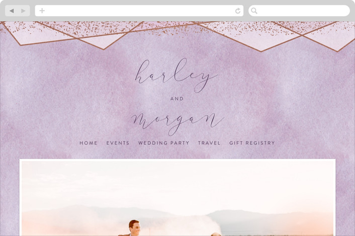 need a wedding website