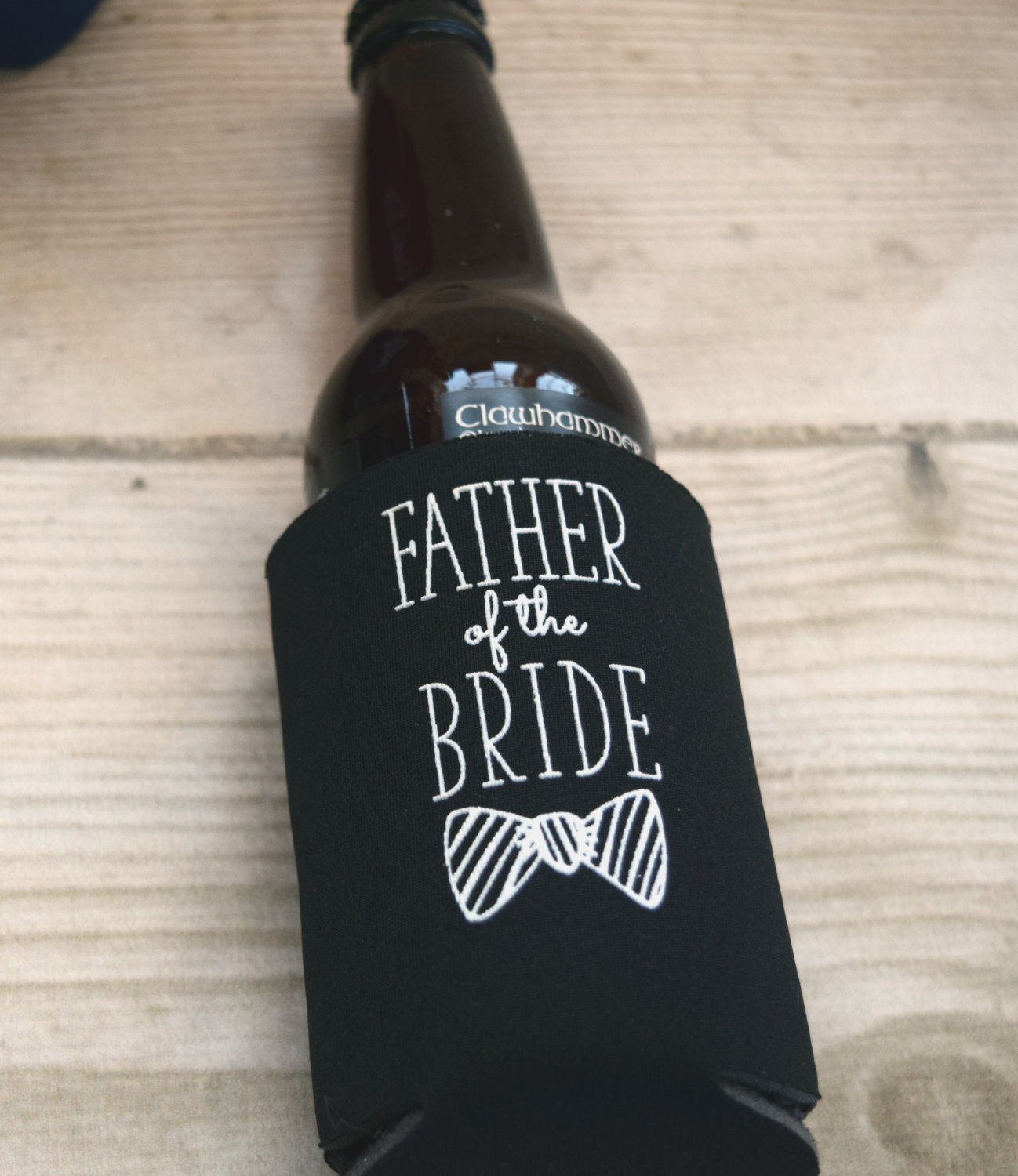 groomsmen koozies / father of the bride and groom can coolers
