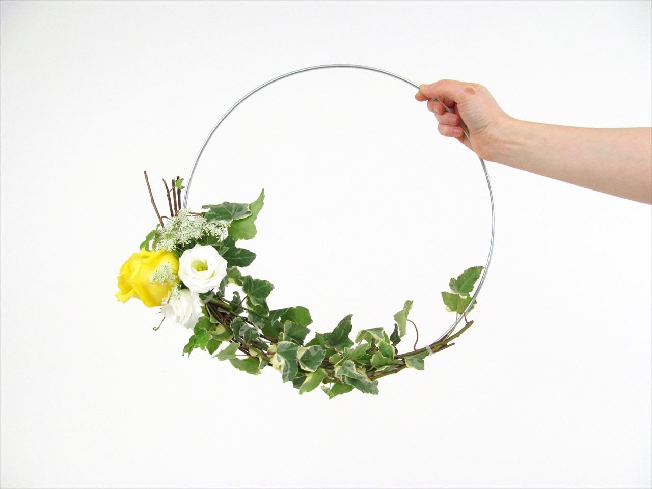 diy floral hoop tutorial