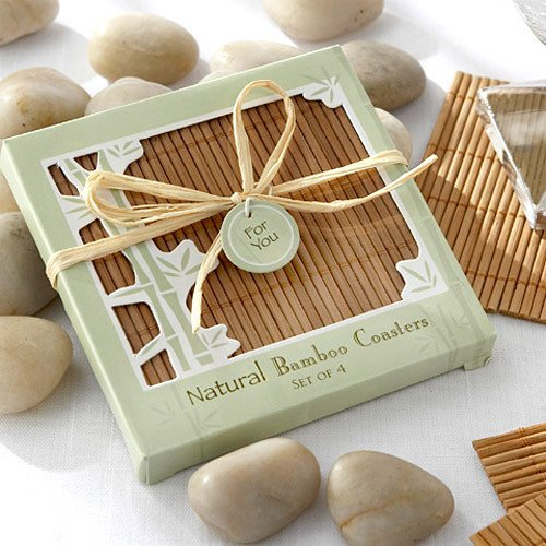 cheap wedding favor coasters