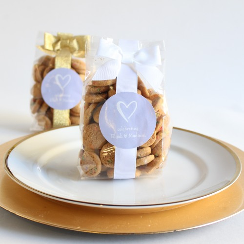cheap wedding favors mini cookie favor bags