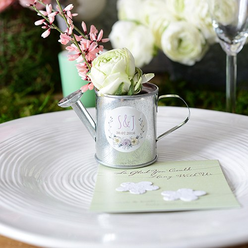 watering can cheap wedding favors