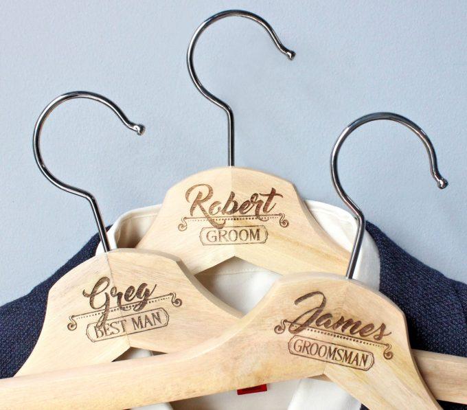 groomsman hangers