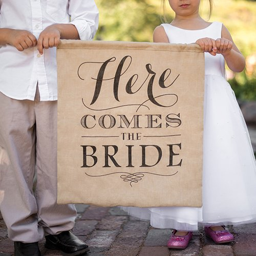 here comes the bride sign, ring bearer sign