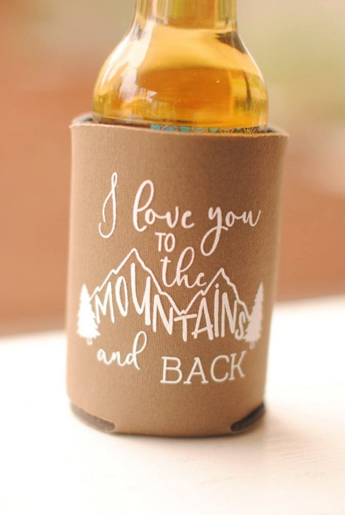 wedding wedding koozies