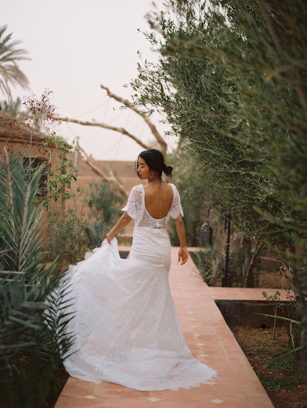 boho bridal gowns