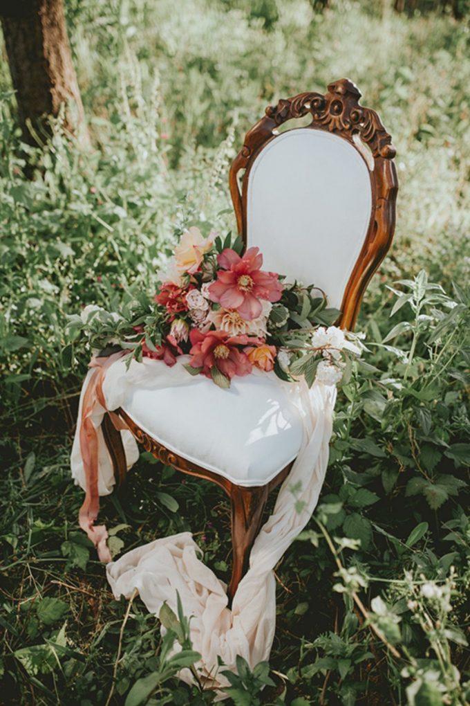gauze table runners wedding