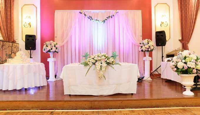 wedding decor rentals