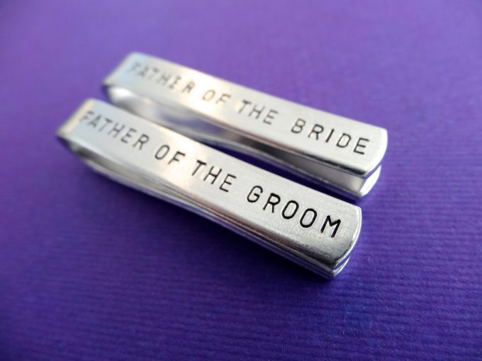 how to wear a tie clip and where to buy engraved tie clip via https://etsy.me/2JcO09S