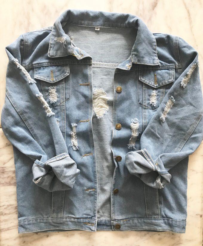 personalized mrs denim jacket