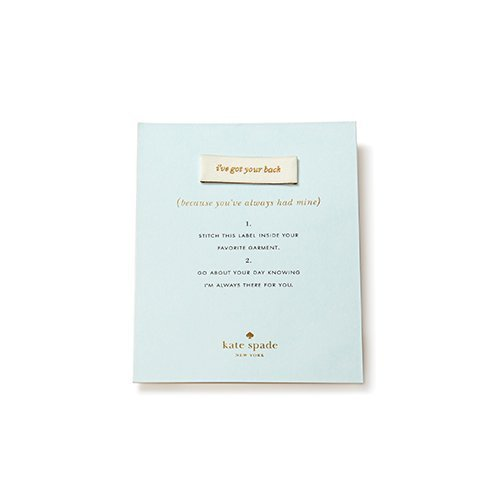 kate spade wedding gifts dress label for bridesmaids ive got your back via https://amzn.to/2t03uXM