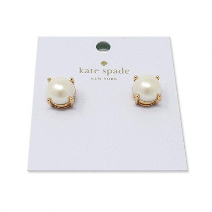 kate spade wedding gifts classic pearl stud earrings via https://amzn.to/2sK5ELZ