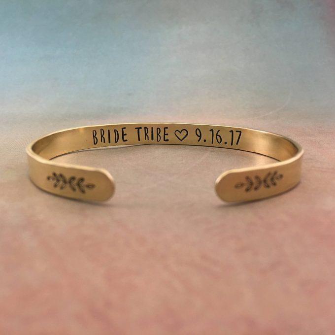 bridesmaid cuff bracelet