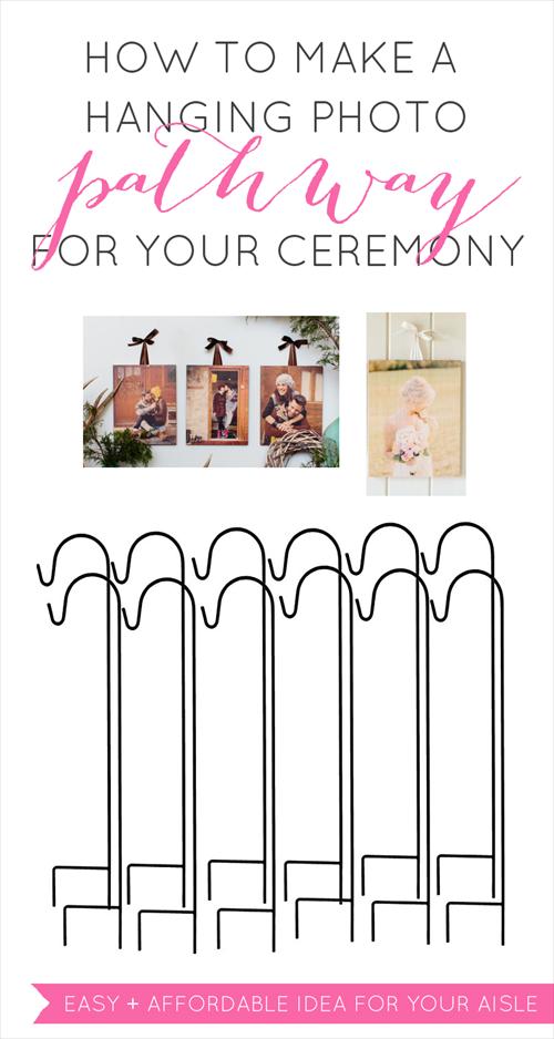 hanging ceremony photo display