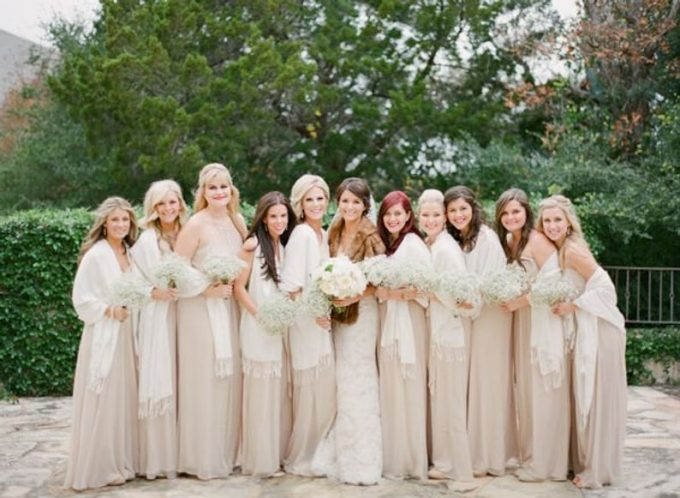 where to buy bridesmaid pashminas