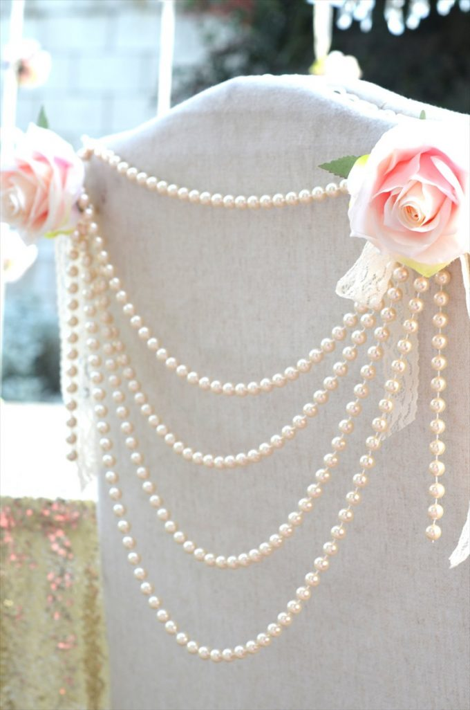 pearl wedding ideas