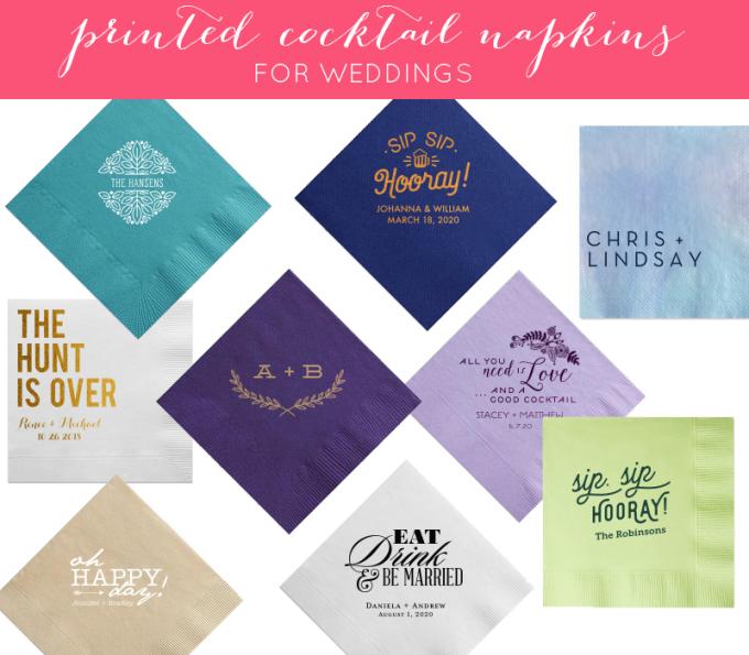 printed-cocktail-napkins
