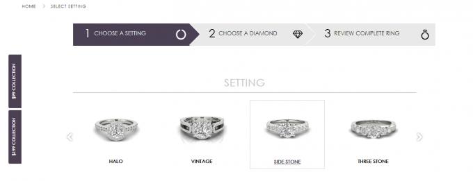 ring settings for engagement rings