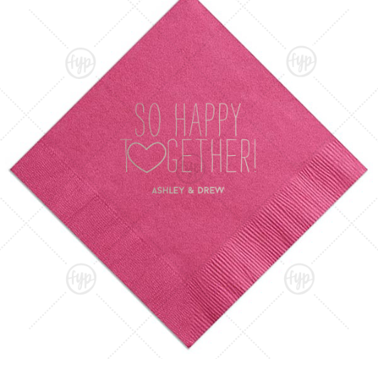 custom personalized napkins