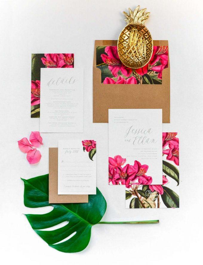 best wedding invitations on Etsy