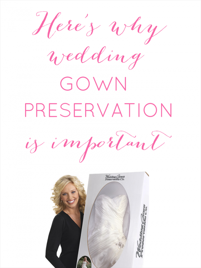 wedding preservation