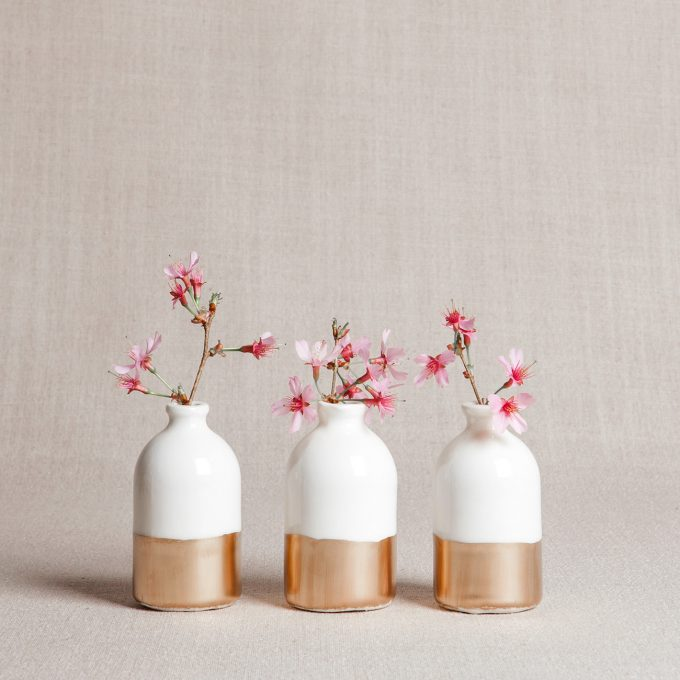bud vase wedding centerpieces