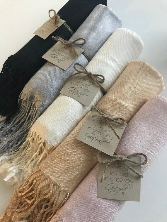 pashminas scarves in bulk for wedding favors ideas