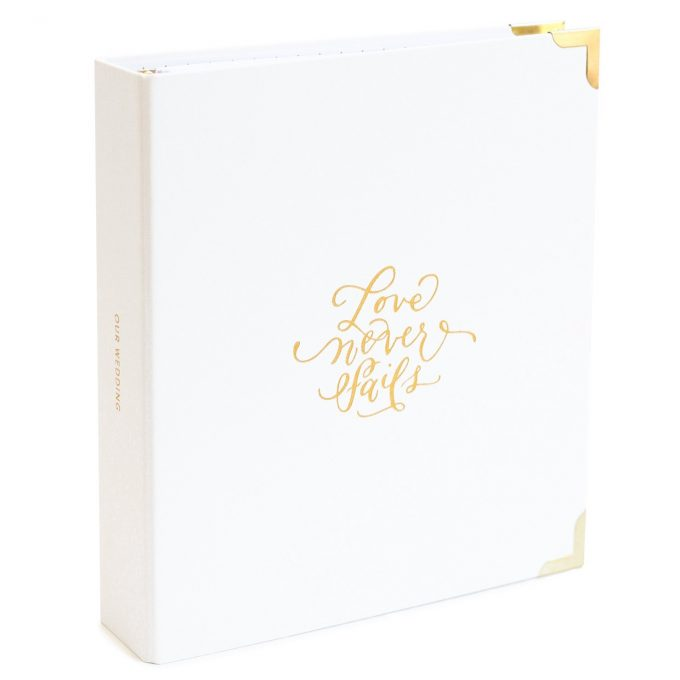 wedding planner binder