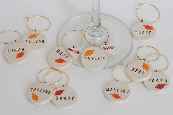 wine charms - wine favors