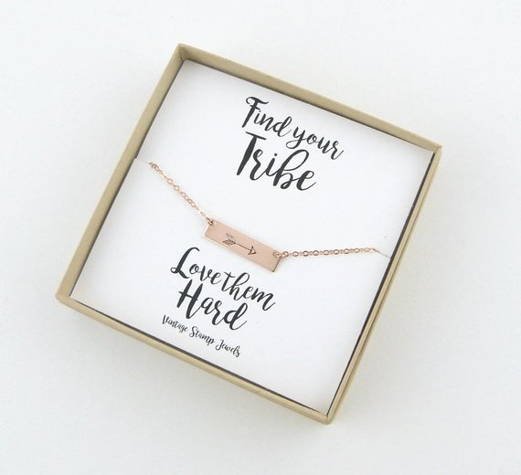 arrow necklace