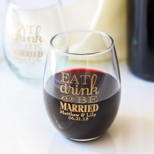 wine glasses - wine favors