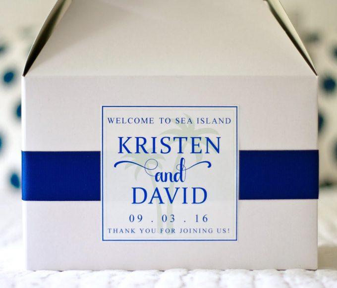 wedding welcome boxes