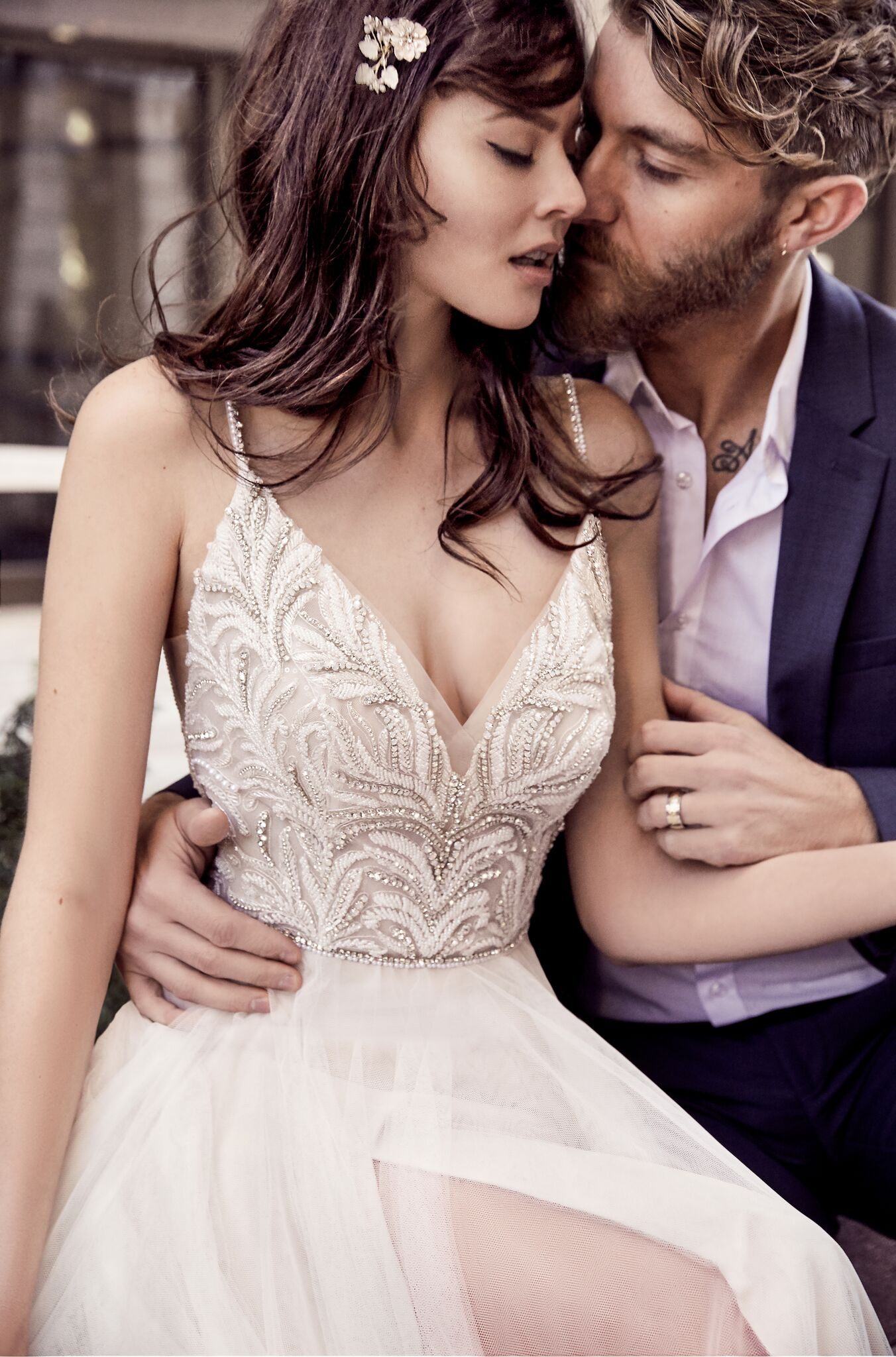 sexy wedding dress by maggie sottero