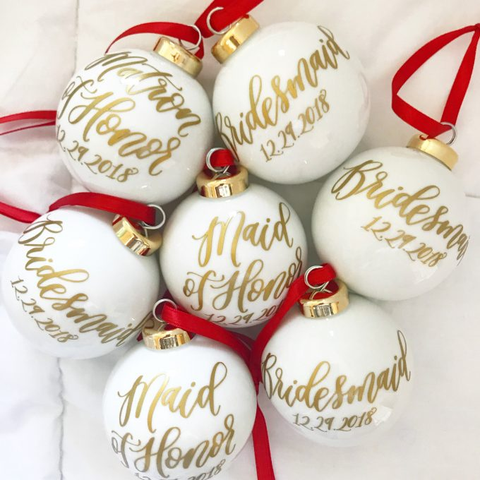 ornament favors for weddings