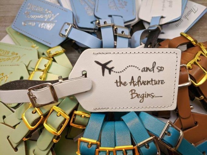 luggage tag favors in bulk