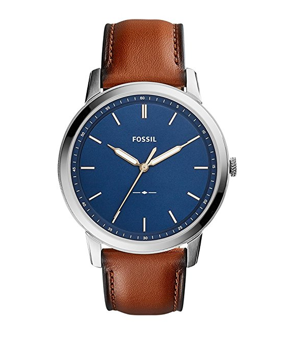 the minimalist watch by fossil for men