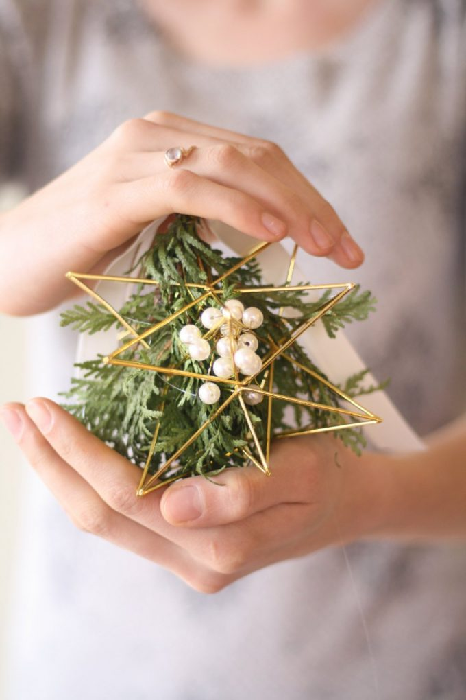 mistletoe bridal bouquet