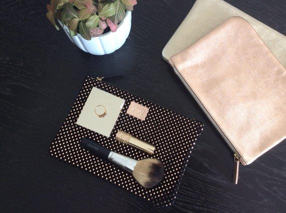 makeup bag for bridesmaids