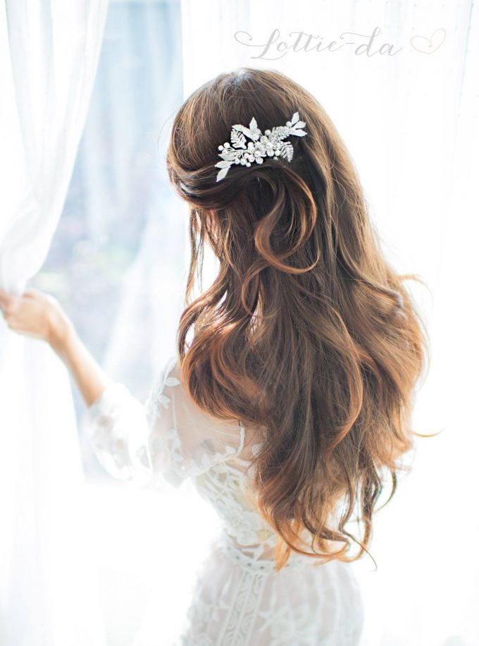 bridal comb for veil