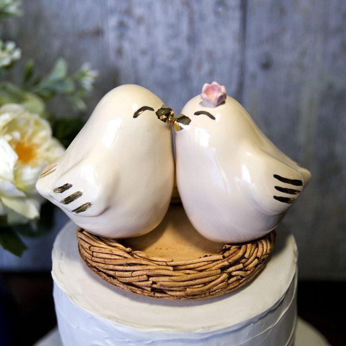 love bird topper