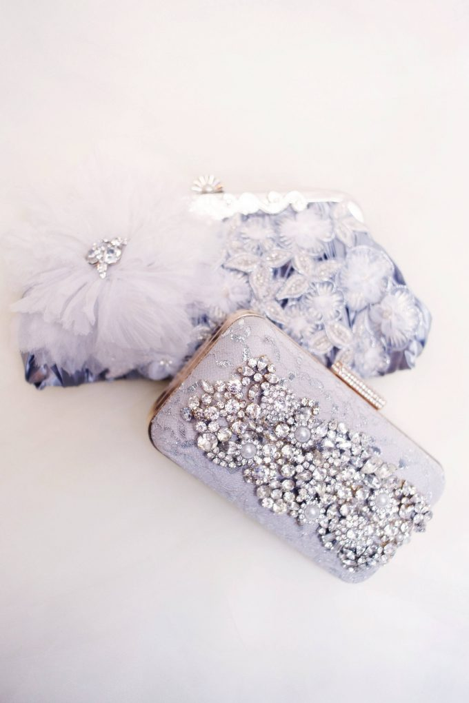 rhinestone bridal purse