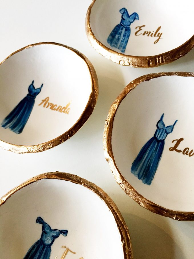 bridesmaid ring dish