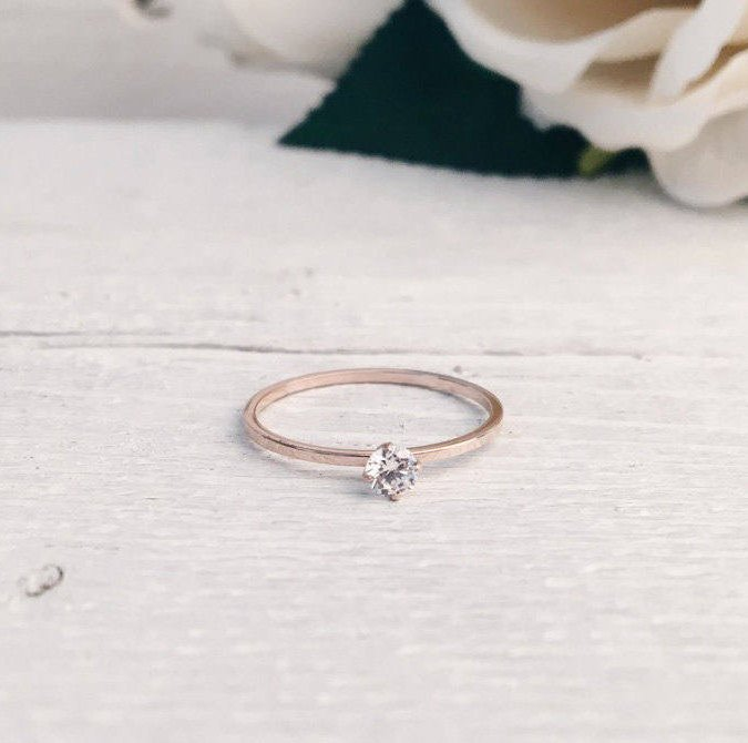 minimalist diamond ring under $20