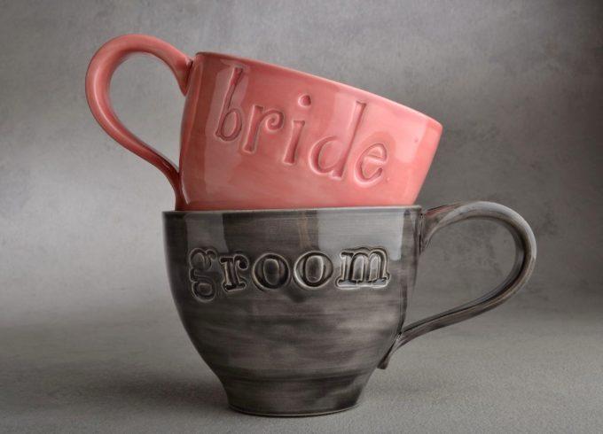 bride and groom coffee mugs