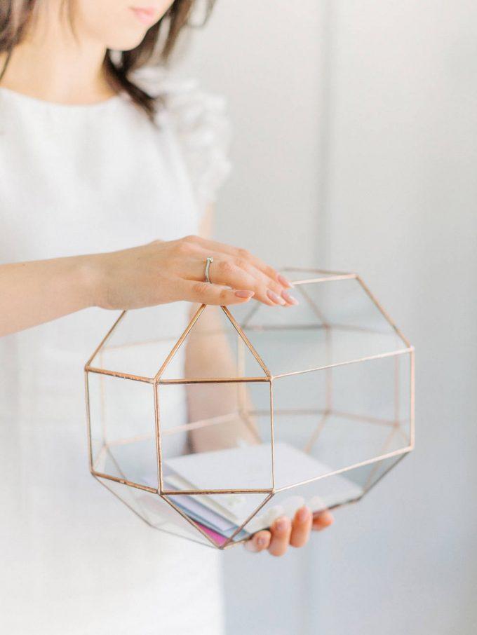 Here's (Easy!) Geometric Centerpiece Ideas for Weddings