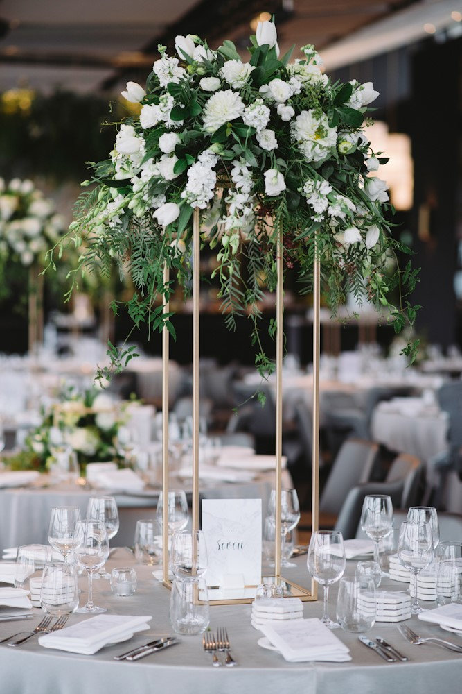 Here S Easy Geometric Centerpiece Ideas For Weddings