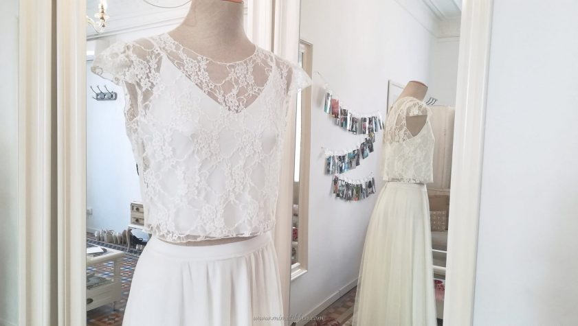 How To Add Sleeves To Wedding Dress / Bridal Gown