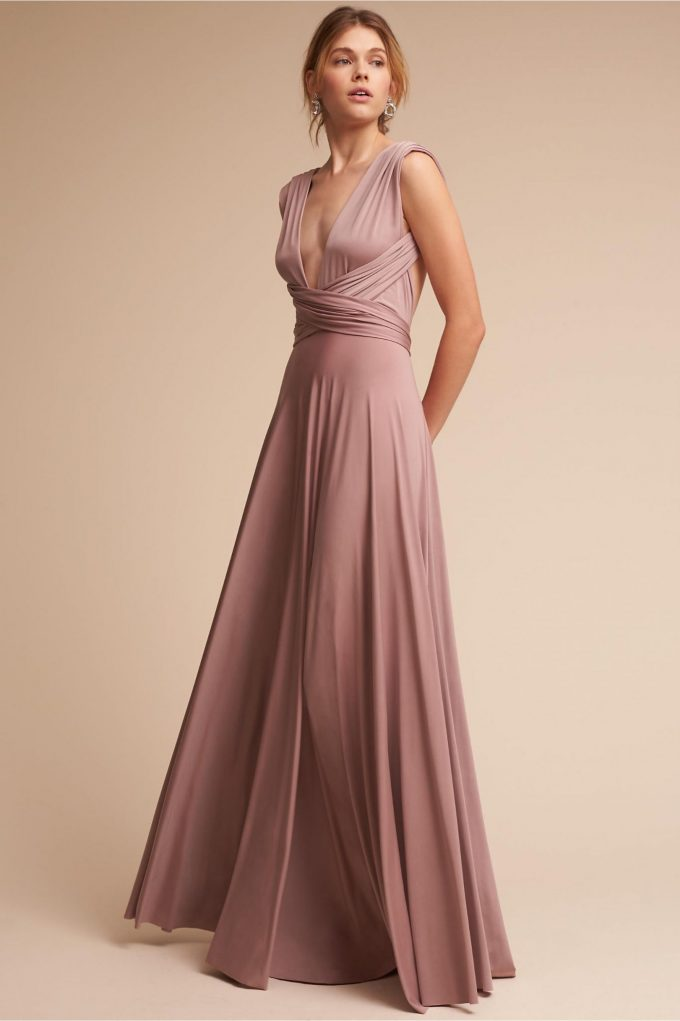 bridesmaid dress worn multiple ways